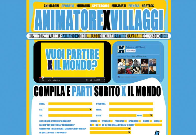 Animatore x Villaggi